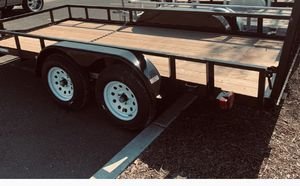 11' by 7' foot utility trailer., great buy don't pass this one up!!! for Sale in SN JUN BATSTA, CA
