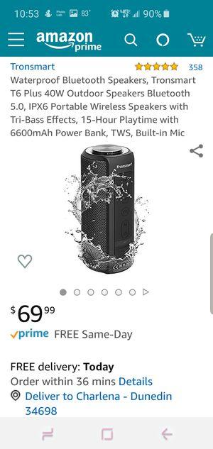 Bluetooth speaker for Sale in Dunedin, FL