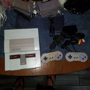 SNES Super Nintendo System for Sale in Pearland, TX