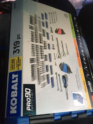 Kobalt 319pc Mechanics Tool Set/Socket Set for Sale in Warr Acres, OK