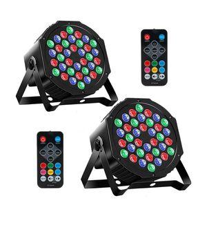 2 MOSFiATA DMX, RGB 36 LED DJ Light (2 Pack) for Sale in Davie, FL