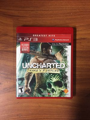 Uncharted Drakes Fortune - Ps3 for Sale in Moreno Valley, CA