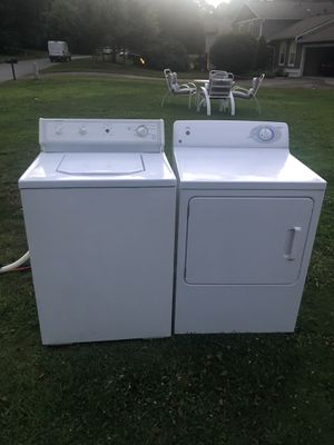 Both electric washer hotpoint , GE Dryer for Sale in Roswell, GA