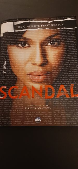 SCANDAL Complete Season 1 (DVD) for Sale in Lewisville, TX