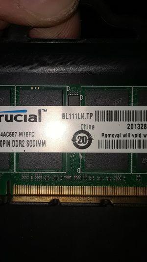 (2) 4gb RAM DDR2 for Sale in Salt Lake City, UT