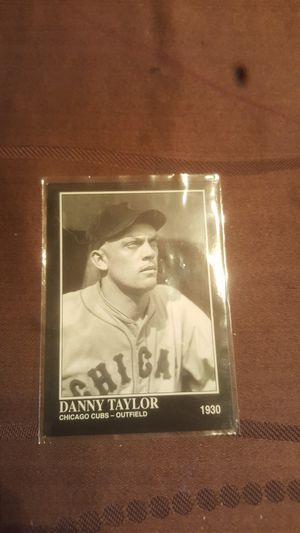 Danny Taylor baseball card for Sale in Anaheim, CA