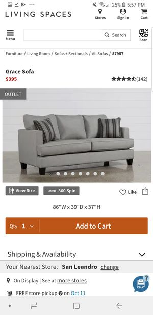 Grace Sofa Set from Living Spaces for Sale in San Jose, CA