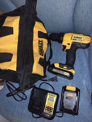 Dewalt Drill Brand new have receipt as well $108 Firm for Sale in Gurnee, IL