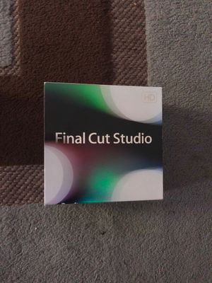 Final Cut Pro Studio For Mac for Sale in Washington, DC