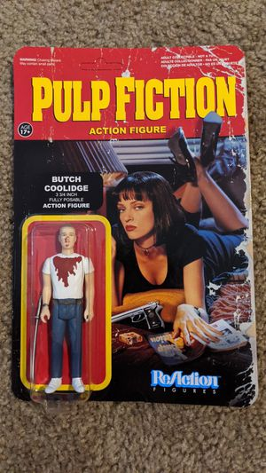 2014 pulp fiction action figure for Sale in Scottsdale, AZ