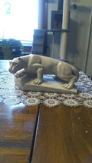 Vintage Penn State Nittany Lion sculpture. Any serious offer accepted for Sale in Freeland, PA