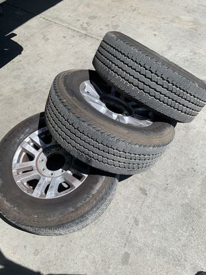 08-15 FORD OEM WHEELS AND TIRES (8x170) for Sale in North Highlands, CA