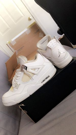 "Air Jordan retro 4 ""Pure Money"" size 13 for Sale in NO POTOMAC, MD"
