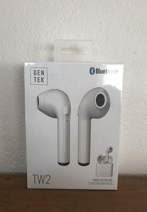 Gen Tek Bluetooth wireless earphones - like Apple EarPods for Sale in Arcadia, CA