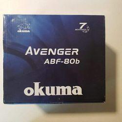 Okuma Avenger Baitfeeder ABF-80B Fishing Reels for Sale in Lynnwood,  WA