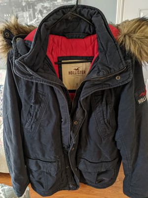 Hollister Winter Faux Fur Parka $70 OBO for Sale in San Diego, CA