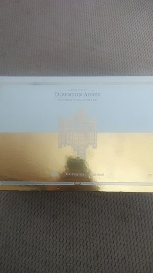 Downtown Abby complete set limited edition DVD never opened value is$70 will sell for$50 for Sale in Cedar Falls, IA