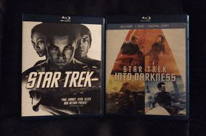 STAR TREK (2 DVDS) BITH BLUE RAY for Sale in Long Beach, CA