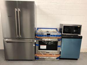 Stainless steel 4pcs kitchen set for Sale in Harrison, NJ