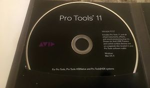 Pro Tools 11  MAC or Windows  Full Installation  Digital Audio Workstation For Music Production for Sale in Los Angeles, CA
