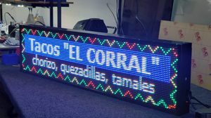 Programmable led sign for Sale in LAKE MATHEWS, CA