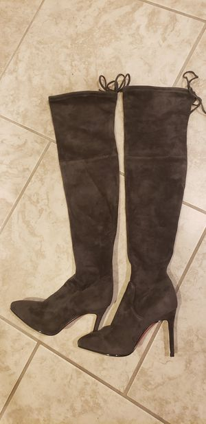 Pointy toe over knee Thigh high boots Size 6.5 for Sale in Las Vegas, NV