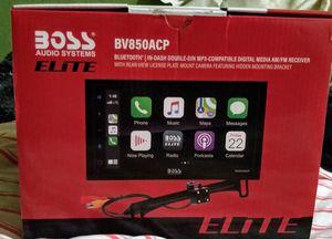 BOSS ELITE Car Stereo System/Back Up Camera for Sale in Pinehurst, TX