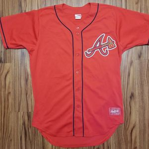 VINTAGE RAWLINGS ATLANTA BRAVES CHIPPER JONES BASEBALL JERSEY for Sale in Scottsdale, AZ