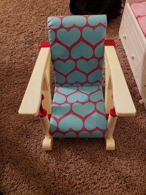 Ameican girl doll chair for Sale in Sacramento, CA