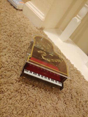 Vintage Grand Piano Music Box for Sale in Virginia Beach, VA