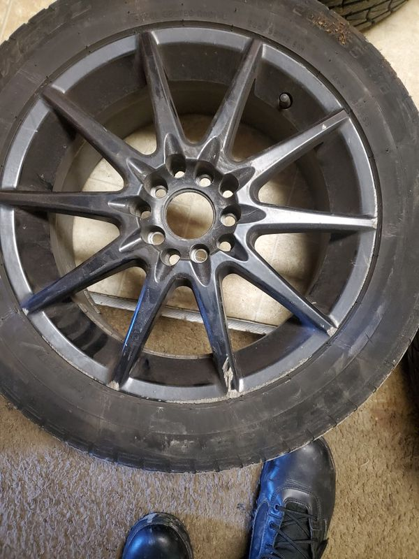 16 In 205/55 Focal Rims Tires