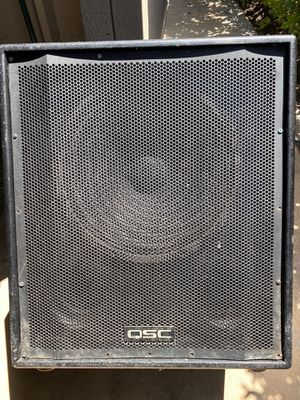 """QSC HPR151W 15"""" Powered Subwoofer for Sale in Laguna Hills, CA"""