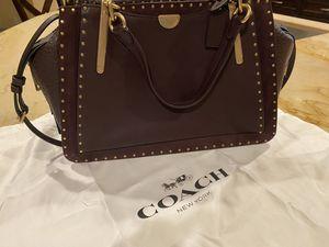 Coach genuine leather purse model dreamer 36 in oxblood for Sale in North Las Vegas, NV