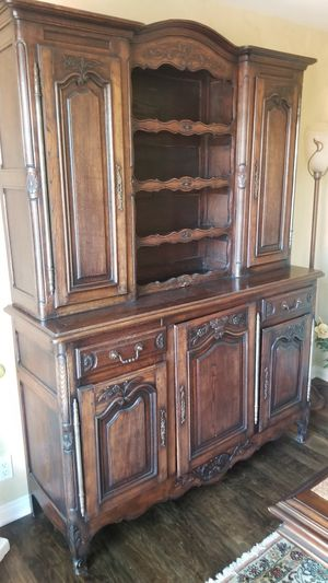 1880's French Hutch Cabinet for Sale in Rancho Santa Fe, CA