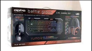 Alpha Gaming Set(keyboard, mouse and headphone!!!) for Sale in San Francisco, CA