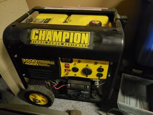 3500 Champion Generator for Sale in Elkhorn, WI
