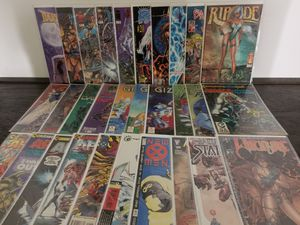 30 Various Comic Books Sleeved #tomoko4k CM1 for Sale in La Puente, CA