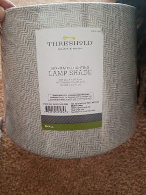 Threshold lamp shade for Sale in Clovis, CA
