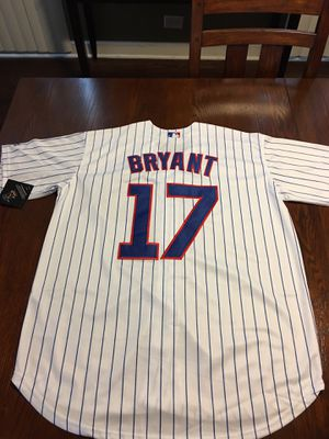 Bryant Cubs baseball jersey brand new large $35 for Sale in Cicero, IL