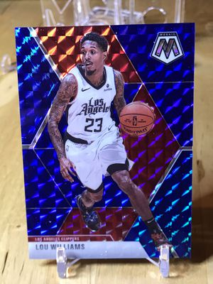 Lou Williams Nba Mosaic Blue base numbered 27/99 #68 for Sale in Lynnwood, WA