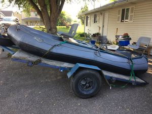 Achilles Raft and Trailer For Sale $2500 OBO for Sale in Missoula, MT