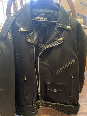 UNIK Biker jacket sz 54 for Sale in El Centro, CA