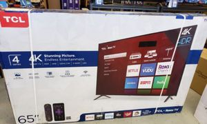 "65"" TCL ROKU TV 4K SMART TV for Sale in Colton, CA"