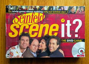 Seinfeld Scene It? interactive DVD trivia board game about nothing for Sale in San Mateo, CA
