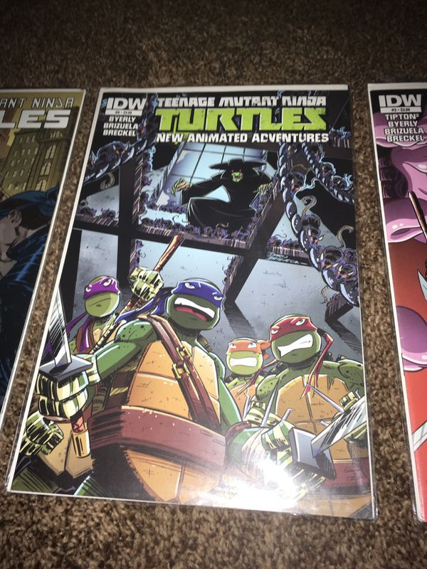 Teenage Mutant Ninja Turtles comic books