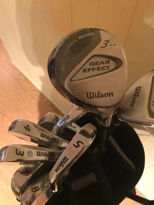 Wilson Golf club+ bag+balls for Sale in St. Louis, MO