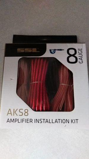 8 gauge amplifier wiring kit for Sale in Phoenix, AZ