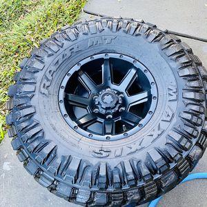 5-Motorsports Rims and Razr Tires for Sale in McClellan Park, CA