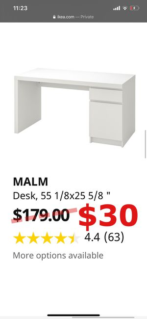 MALM IKEA DESK - USED for Sale in New York, NY