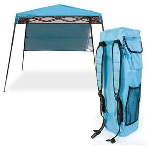 Quik Shade 6 ft. x 6 ft. Blue Go Hybrid Compact Backpack Canopy for Sale in San Marcos, CA